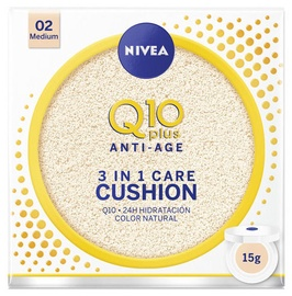 Nivea Q10 Plus Anti Age 3in1 Care Cushion 15g Medium