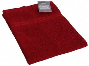 Verners Frotee Wick Pattern 50x100cm Red
