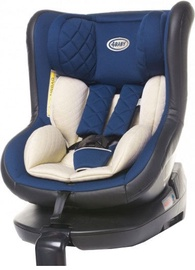 4Baby Car Seat Roll-Fix Navy Blue