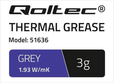 Qoltec Thermal Grease 1.93 W/m-K 3g