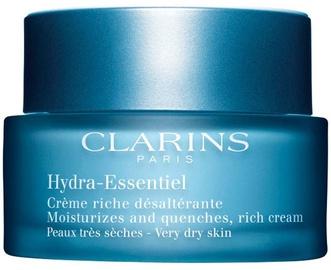 Sejas krēms Clarins Hydra Essentiel Rich Cream, 50 ml