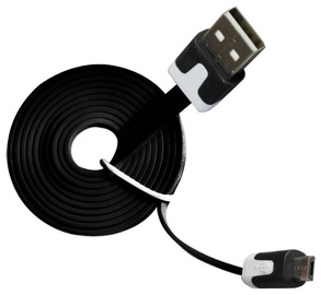 Vakoss Cable USB to USB-micro Black 1 m
