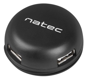 Natec Bumblebee USB 2.0 4-port Hub Black