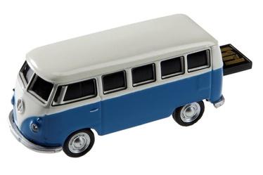 Autodrive USB VW Bus 16GB Blue