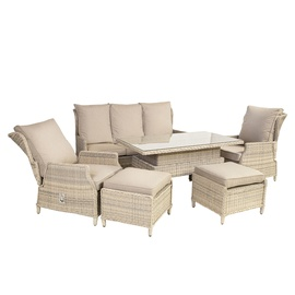 Home4you Basel Garden Furniture Set Beige