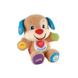 Žaislinis šuniukas su širdele Fisher Price