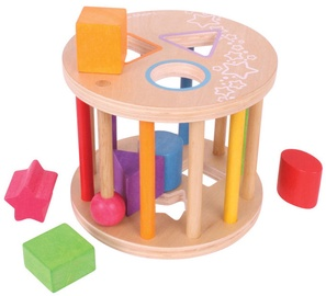Bigjigs Toys First Rolling Shape Sorter BB096