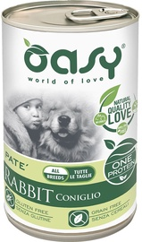 Oasy Wet Adult All Breeds Rabbit 400g