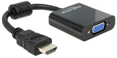 Delock Adapter HDMI-A to VGA Black