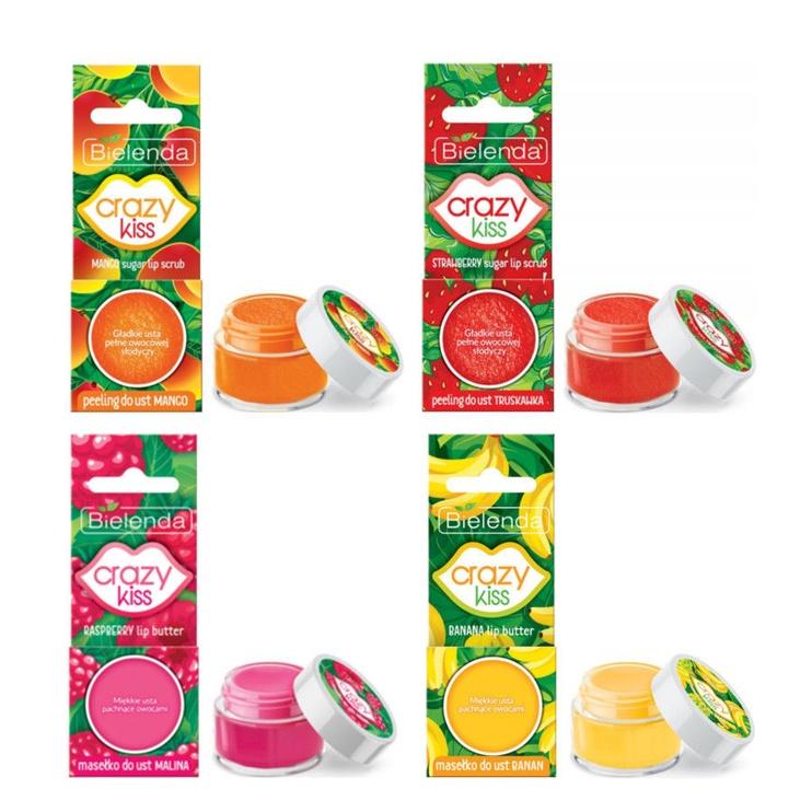 Bielenda Crazy Kiss Lip Scrub 15g Mango