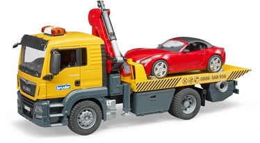 Bruder Two Truck MAN TGS With Roadster Auto 3750