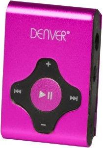 Музыкальный проигрыватель Denver MPS-409 MK2, розовый, 4 ГБ