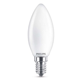 SP. LED B35 4,3W E14 827 FR GL 470LM (PHILIPS)