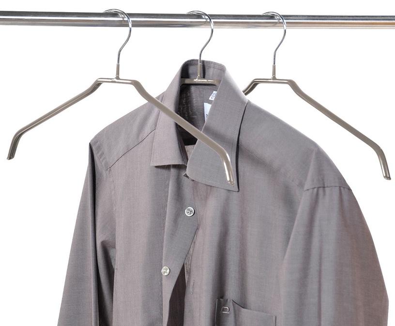 Kesper Metal Hanger 46cm Grey 3pcs