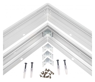 Aliuminis LED apšvietimo rėmas Spectrum, 4,4 x 6,4 x 60 cm