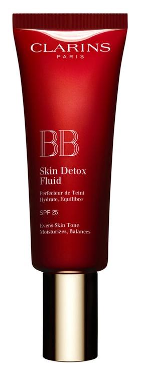 BB sejas krēms Clarins BB Skin Detox Fluid SPF25 01, 45 ml
