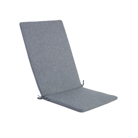 Home4you Simple Grey Chair Cover 48x115x3cm Grey