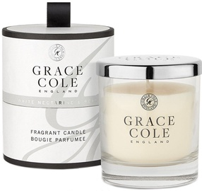 Grace Cole Fragrant Candle 200g White Nectarine & Pear