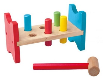 Woodyland Color Toy Hammer With Stand 90002