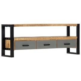 TV-laud VLX Solid Mango Wood, mitmevärviline, 1300 mm x 300 mm x 500 mm