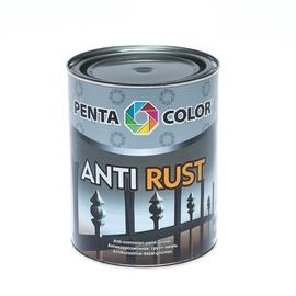 Pretkorozijas krāsa Pentacolor Antirust, 0,9l, šokolādes brūna