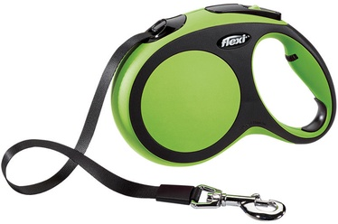 Flexi New Comfort Lead M 5m Green