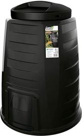 Prosperplast Composter Urn IKECO340-S411 340L Black 3185168