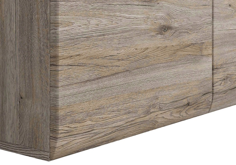 Black Red White Chest Of Drawers Azteca Trio KOM3D3S San Remo Oak