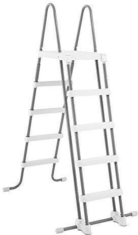 Intex Pool Safety Ladder 132cm Grey/White