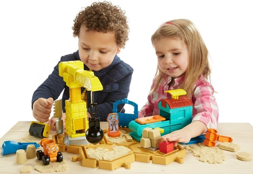 Fisher Price Bob The Builder Mash & Mold Construction Site DMM55