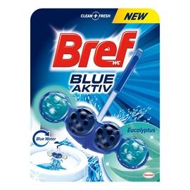 Pakabinamas tualeto muiliukas Bref Blue Aktiv, 50 g