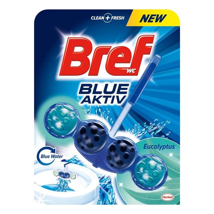 Henkel Bref Blue Aktiv Eucalyptus Toilet Cleaner-Freshener 50gr