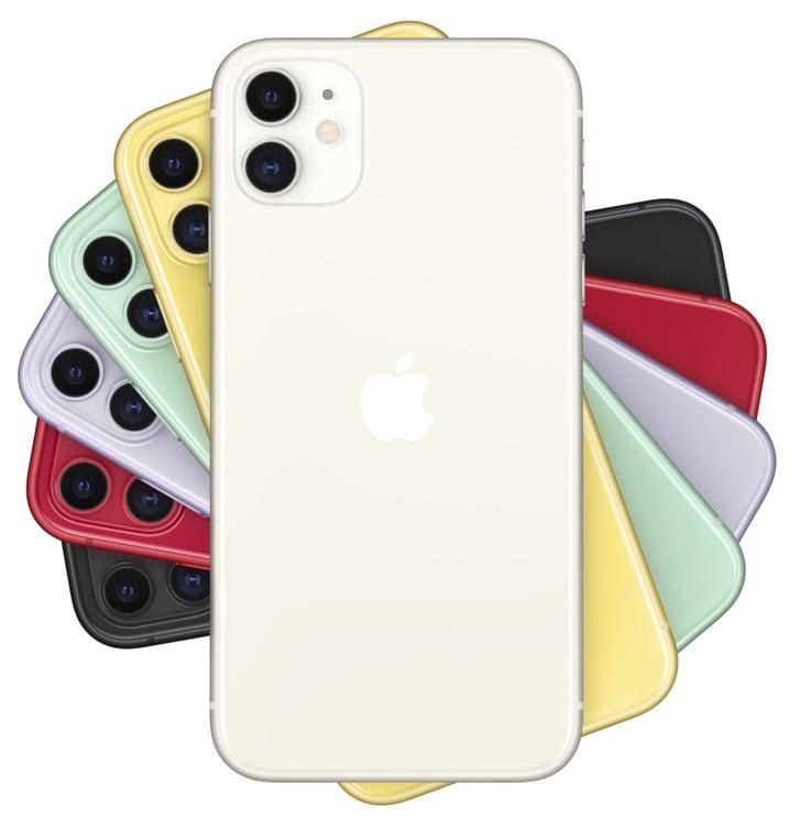 Mobilusis telefonas Apple iPhone 11 White, 128 GB