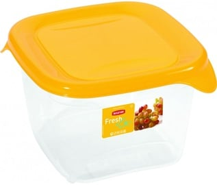 Curver Food Container Square 1,2L Fresh&Go Yellow