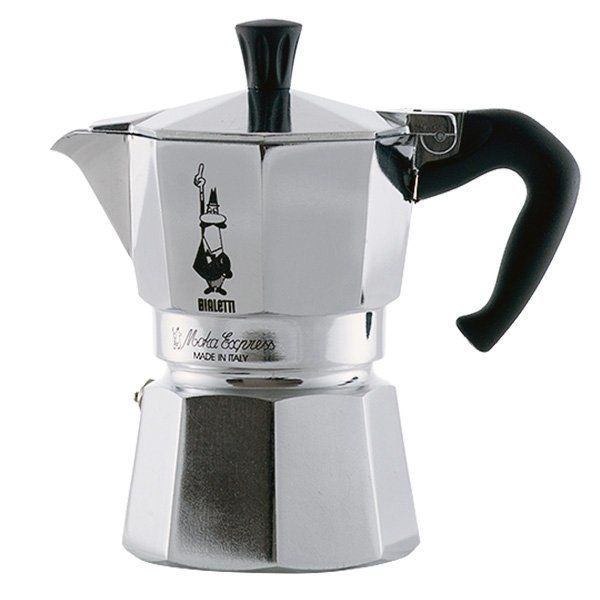 Bialetti Moka Express Coffee Maker 0.05l Silver
