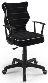 Детский стул Entelo Norm Size 5 JS01, черный, 370 мм x 1010 мм