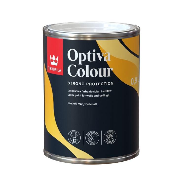 Эмульсионная краска Tikkurila Optiva Colour AP 0.9l White