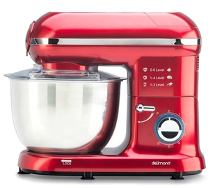 Delimano Kitchen Robot Pro Red