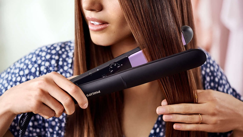 PHilips ThermoProtect Straightener StraightCare Essential BHS377/00