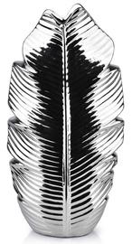Mondex Leaf Silver Vase 36.5cm
