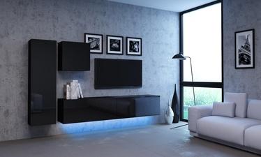 Комплект мебели для гостиной Vivaldi Meble Vivo Vivo 2, черный