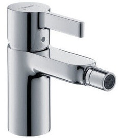 Hansgrohe Metris S Bidet Faucet with Pop-Up Chrome