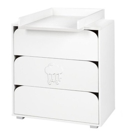 Klups Chest Of Drawers Nel Chmurka White