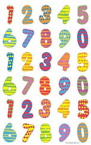 Herlitz Stickers Coloured Numbers