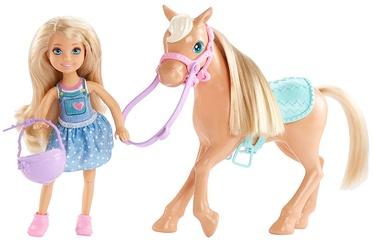 Mattel Barbie Club Chelsea & Horse DYL42