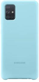 Nugarėlė silikoninė Samsung A71 Blue