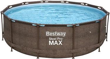 Bassein Bestway Power Steel Deluxe, pruun, 3660x1000 mm, 9150 l