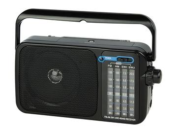 Blow RA5 Portable Analogue Radio Black 77-534