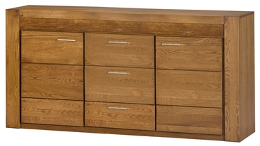 Szynaka Meble Velvet 47 Drawer 181x88x42cm Oak