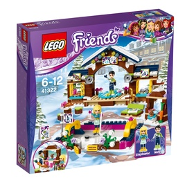 Konstruktorius LEGO Friends, Slidinėjimo kurorto čiuožykla 41322